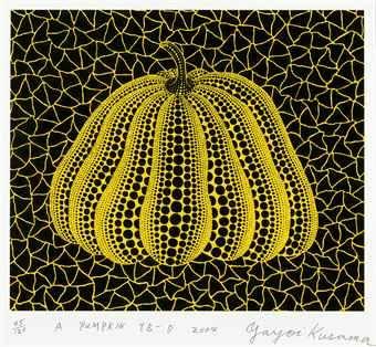 Yayoi Kusama-A Pumpkin YB-D-2004