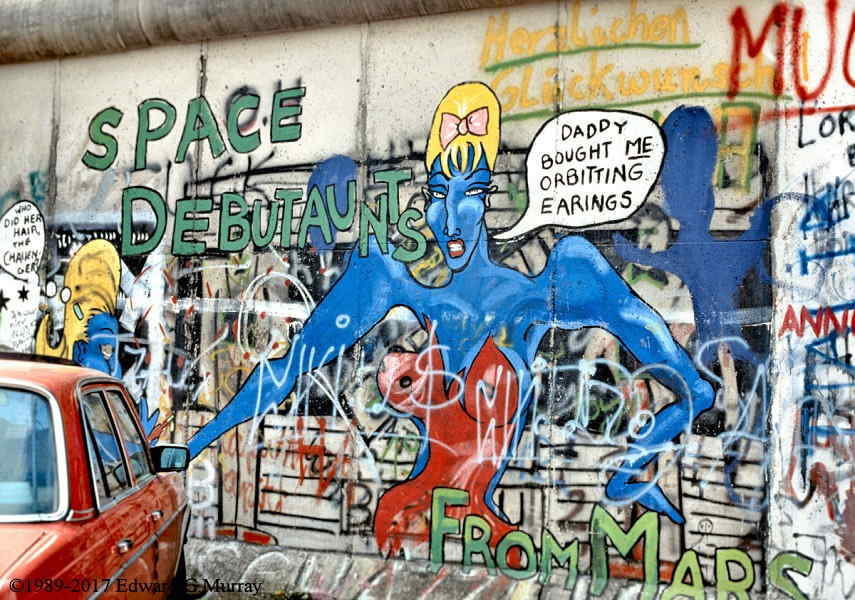 Space Debutantes, german graffiti, in berlin, germany