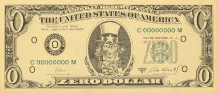 Cildo Meireles-Zero Dollar-1984