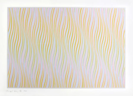 Bridget Riley-Untitled (Bronze)-1978