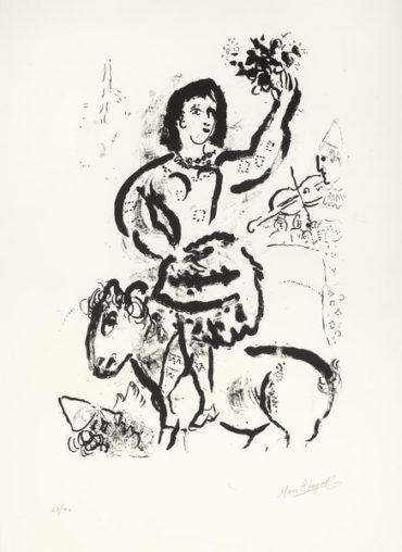 Marc Chagall-Circus-1969