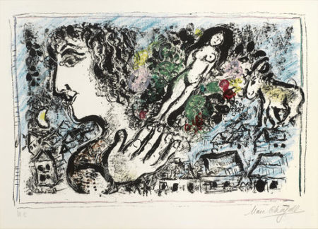 Marc Chagall-The Joy of Life-1967