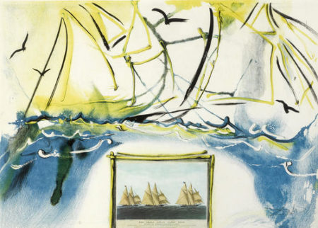 Salvador Dali-Currier & Ives as Interpreted by Salvador Dali-1971