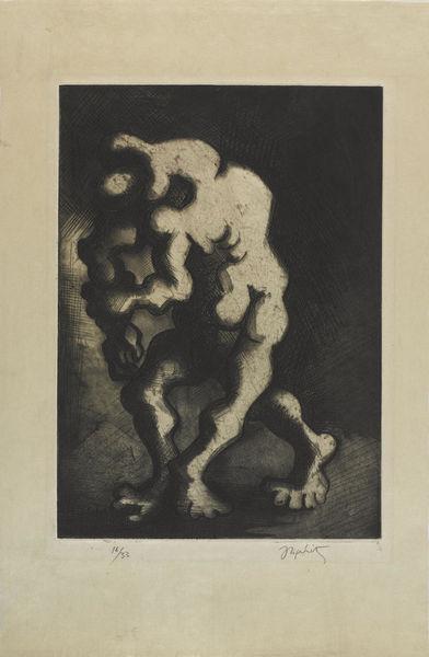 Jacques Lipchitz-Chemin de L'Exile-1945