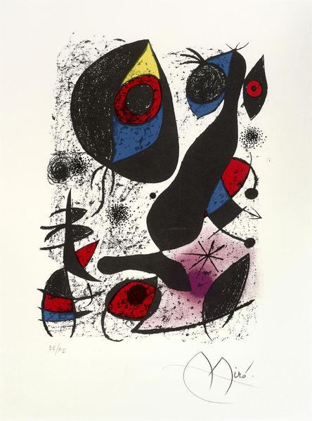 Joan Miro-Miro a L'encre-1972