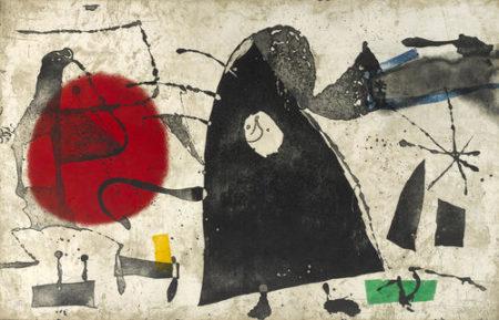 Joan Miro-Els Gossos II-1979