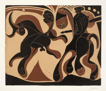Pablo Picasso-Apres la Pique-1959