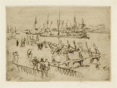James Abbott McNeill Whistler-Little Dordrecht-1880