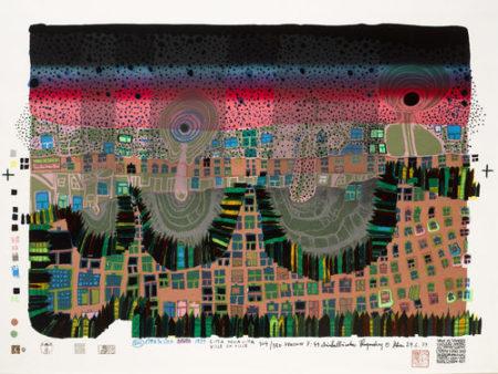 Friedensreich Hundertwasser-Town in Town-1979