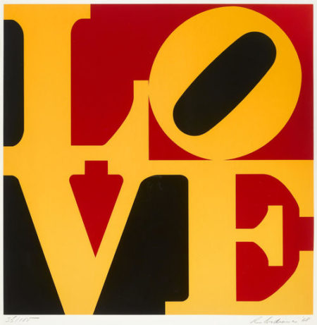 Robert Indiana-The German Love (S. 42)-1968