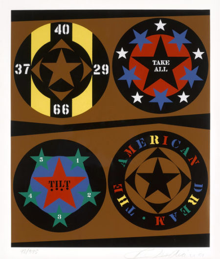 Robert Indiana-Untitled, from An American Dream-1997