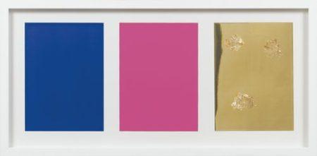 Yves Klein-Monochrome Und Feuer (Triptyque)-1961