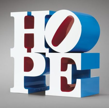 Robert Indiana-Hope-2009