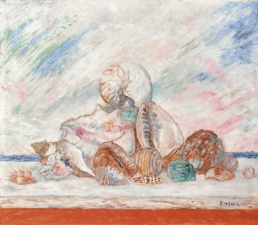 James Ensor-Coquillages-1937