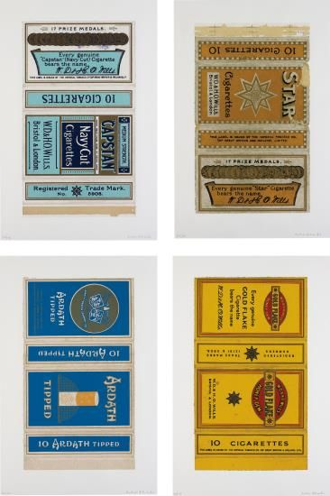 Peter Blake-Fag Packets (Capstan, Star, Ardath And Gold Flake)-2006
