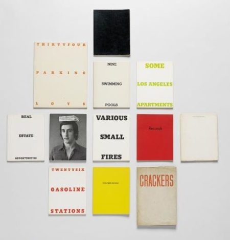 Ed Ruscha-Group Of Artist's Books (11); And Picturing Ed: Jerry Mcmillan'S Photographs Of Ed Ruscha, 1958-1972 (1)-2004