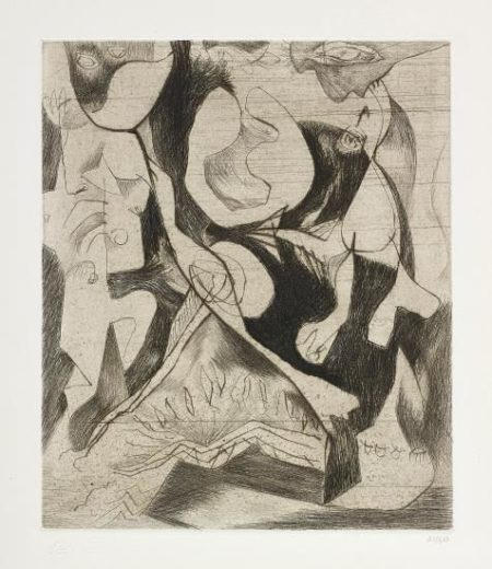 Jackson Pollock-Untitled-1967