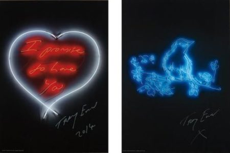 Tracey Emin-I Promise To Love You; And My Favourite Little Bird-2015