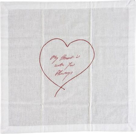 Tracey Emin-My Heart Is With You Always-2015