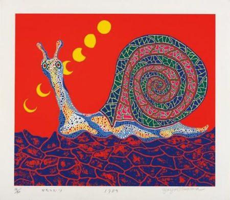 Yayoi Kusama-Snail-1989