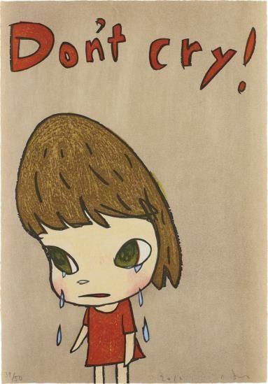 Yoshitomo Nara-Don't Cry-2012