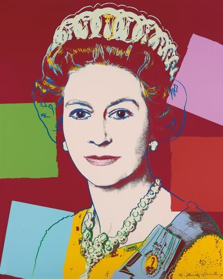 Andy Warhol-Queen Elizabeth Ii Of The United Kingdom, From Reigning Queens-1985