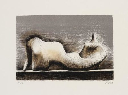 Henry Moore-Reclining Figure; Group In Industrial Landscape; Reclining Woman; And Three Seated Figures In Setting-1975