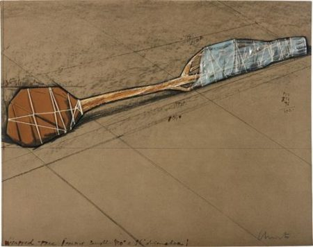 Christo and Jeanne-Claude-Wrapped Tree, Project-1979