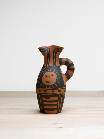 Pablo Picasso-Yan Soleil (Yan Sun)-1963