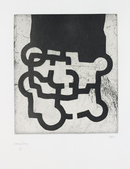 Eduardo Chillida-Homage To Sir Roland Penrose-1981