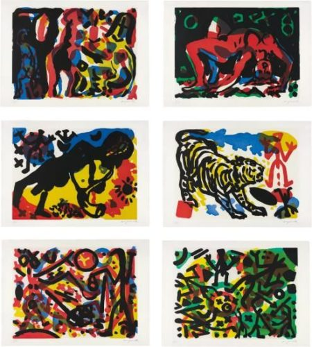 A.R. Penck-Berlin Suite-1990