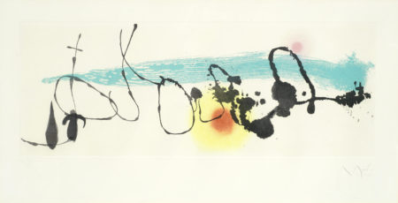 Joan Miro-Soileil Noye I-1962