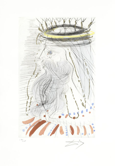 Salvador Dali-King Solomon, from King of Kings-1971