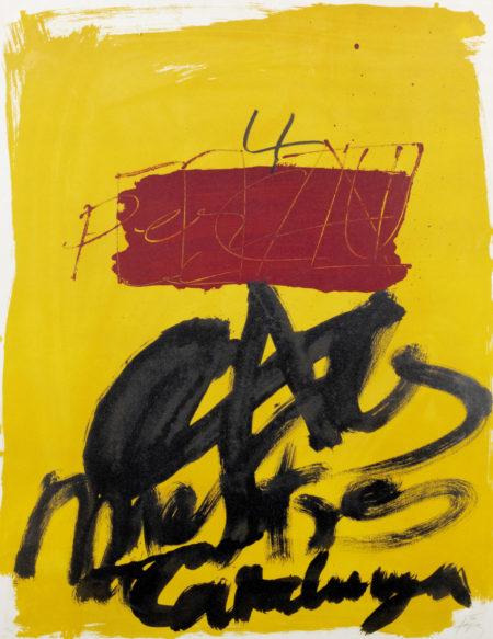 Antoni Tapies-Untitled-1972