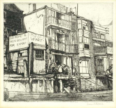 Graham Sutherland-Greenwich-1923