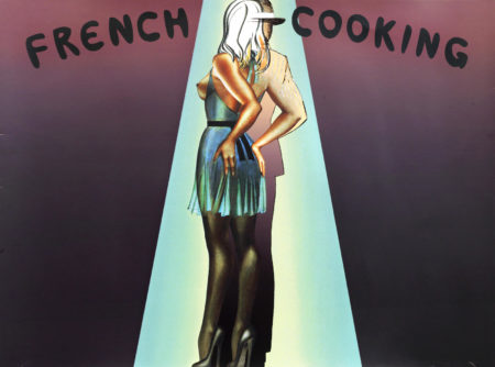 Allen Jones-French Cooking  unframed-1973