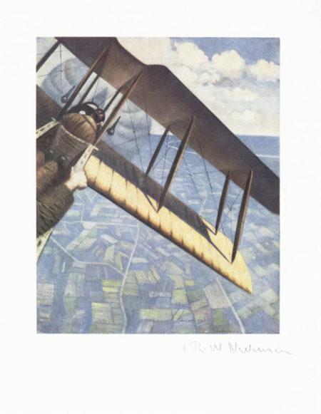 Banking at 4000 feet-1917