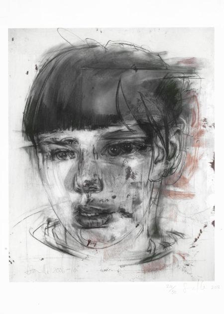 Jenny Saville-Red Stare-2012