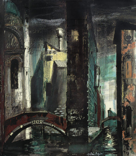 John Piper-Death In Venice II-1973