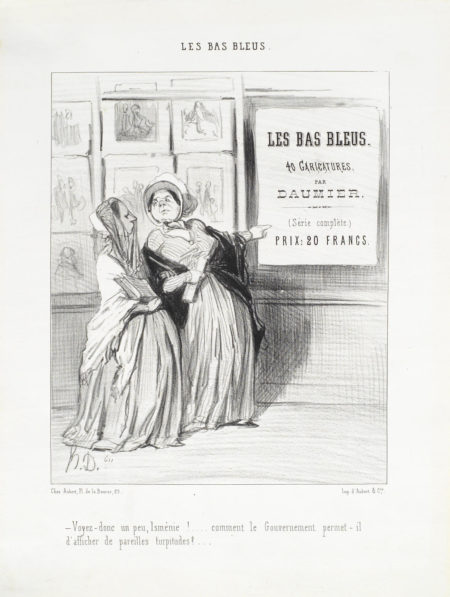 Honore Daumier-A Collection of Fourteen Lithographs (Delteil 1049,1117,1134,1142,1170,1185,1249,1255,1257,1260,1387,1414,1425,3250)-