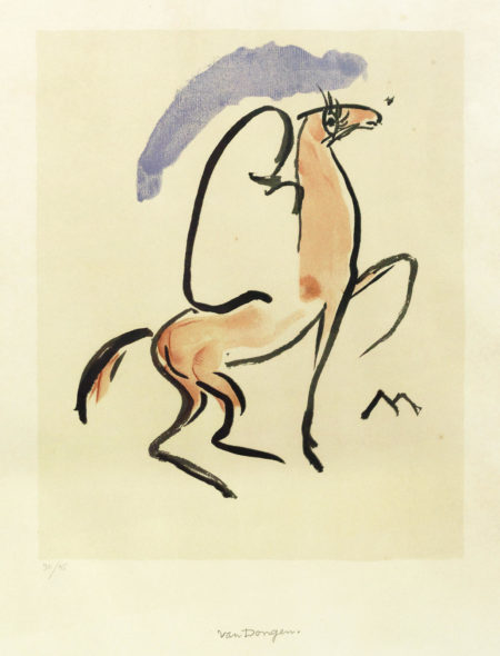 Kees van Dongen-Cavalier Arabe-1930
