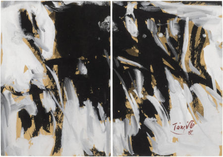 T'ang Haywen-Untitled diptych-1984