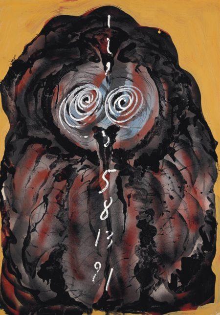 Mario Merz-Occhi con numeri-1979