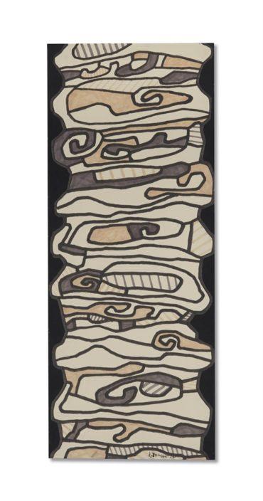 Jean Dubuffet-Escalier-1967