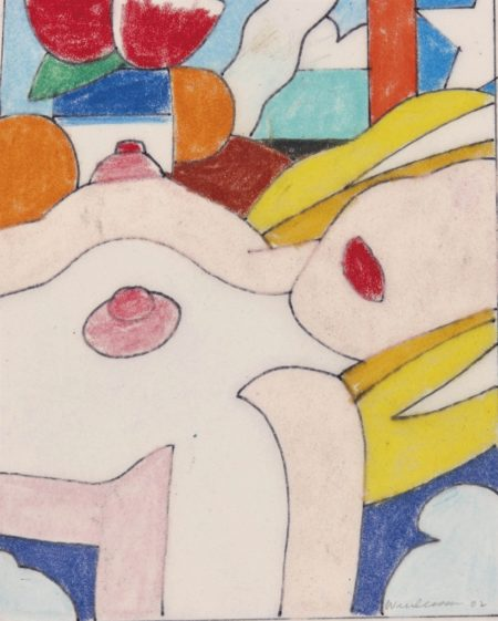 Tom Wesselmann-Study for Great American Nude #53 + 40-2002
