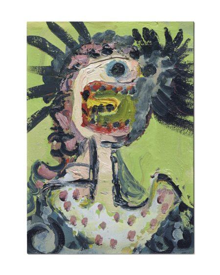 George Condo-Screech-1989