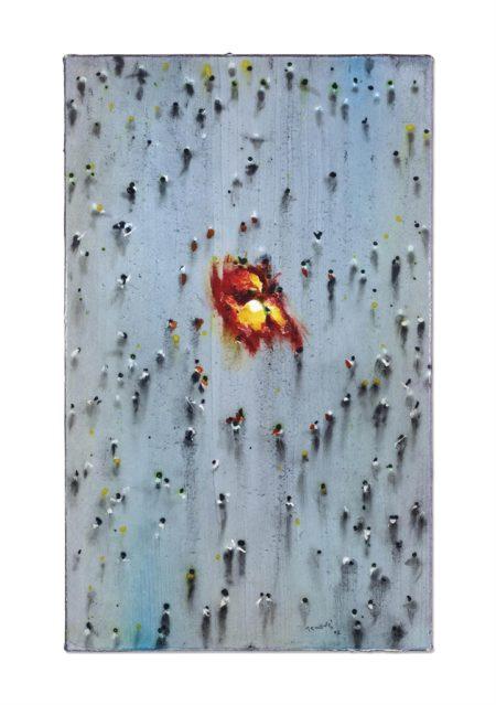 Juan Genoves-Incendiarios VII-2006