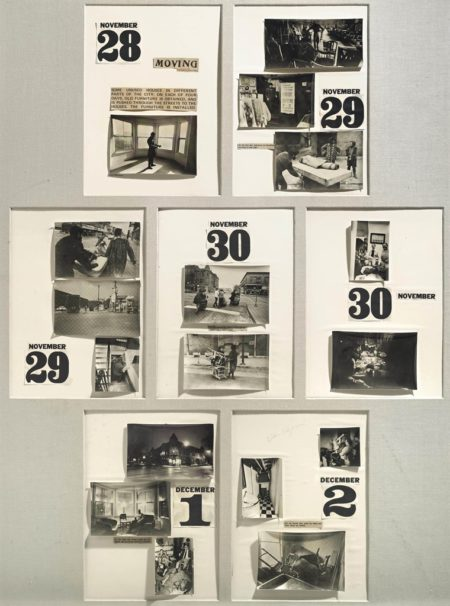 Allan Kaprow-Moving (Days Off : A Calendar of Happenings)-1968