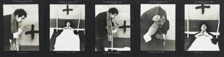 Christian Boltanski-Saynetes comiques - La mort du grand pere-1974