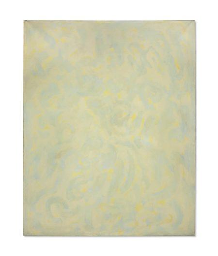Beauford Delaney-Composition jaune-1961
